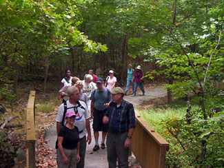 Occoquan Hike - Off to a Good Start!
