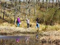 Youth explore nature at the Occoquan Bay Refuge