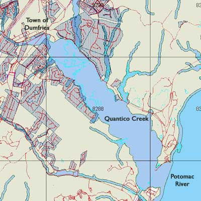 Maps - Prince William Conservation Alliance Quantico Map on