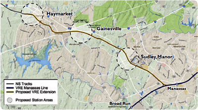 VRE Proposed Extension
